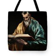 Apostle Saint Simon Tote Bag