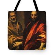 Apostles Peter And Paul 1592 Tote Bag