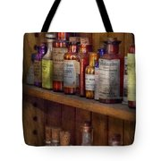Apothecary - Inside The Medicine Cabinet  Tote Bag