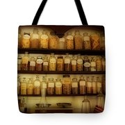 Apothecary Jars Tote Bag