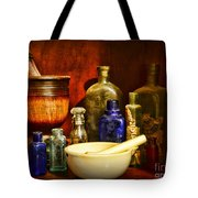 Apothecary - Tools Of The Pharmacist Tote Bag