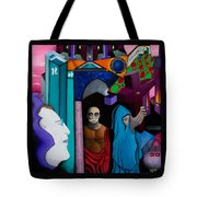 Apotheosis Of Gurdjieff And Ouspensky Tote Bag