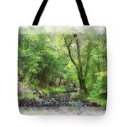 Appalachian Creek Tote Bag