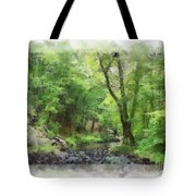 Appalachian Creek Tote Bag