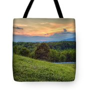 Appalachian Evening Tote Bag