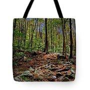 Appalachian Trail Clearing Tote Bag