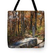 Appalachian Trail In Shenandoah National Park Tote Bag