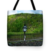 Appalachian Trail In West Virginia Goes Through Harpers Ferry Tote Bag