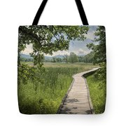 Appalachian Trail - Out Into The Light Tote Bag