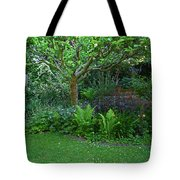 Apple And Fern Tote Bag