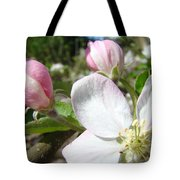 Apple Blossom Artwork Spring Apple Tree Baslee Troutman Tote Bag