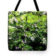 Apple Blossom Digital Painting Tote Bag