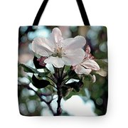 Apple Blossom Time Tote Bag