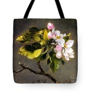 Apple Blossomss Tote Bag