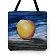 Apple By The Sea Tote Bag
