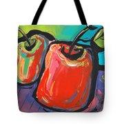 Apple Dance Tote Bag