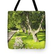 Apple Garden Tote Bag