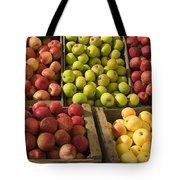 Apple Harvest Tote Bag by Garry Gay