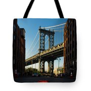 Apple On The Streets Tote Bag