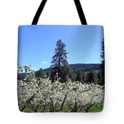 Apple Orchard In Bloom Tote Bag