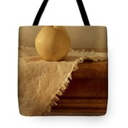 Apple Pear On A Table Tote Bag