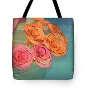 Apple Roses Tote Bag