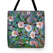 Apple Tree Blossom Tote Bag
