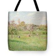 Apple Trees At Gragny Tote Bag