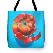Apple Twist Tote Bag