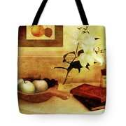 Apples And Pears In A Hallway Tote Bag
