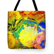 Apples And Sunshine Tote Bag