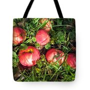 Apples From My Garden Tote Bag