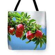 Apples On A Branch Tote Bag