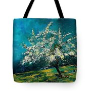 Appletree In Spring Tote Bag