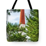 Approach To Barnegat Light Tote Bag