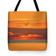 Approaching August Sunrise At Lake Simcoe  Tote Bag