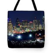 Approaching Dallas From Fort Worth Tote Bag