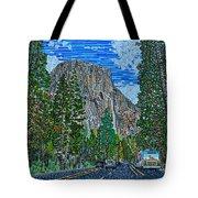 Approaching El Capitan Yosemite National Park Tote Bag