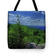 Approaching Little Gap On The Appalachian Trail In Pa Tote Bag