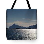 Approaching Lofoten Tote Bag
