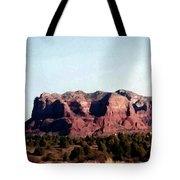 Approaching Sedona Tote Bag