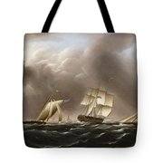 Approaching Squall Tote Bag