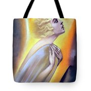 Approaching The Light Tote Bag