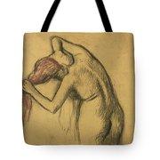 Apres Le Bain Femme S'essuyant Tote Bag