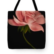 Apricot Beauty Rose Tote Bag