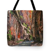 Apricot Canyon 2 Tote Bag