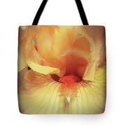 Apricot Iris Tote Bag