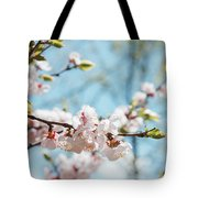 Apricots Bloom Tote Bag