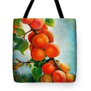Apricots In The Garden Tote Bag