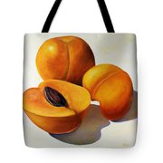 Apricots Tote Bag by Shannon Grissom